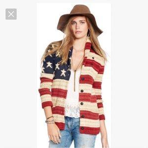NWT Ralph Lauren polo long sleeve cardigan medium